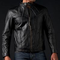 Мужские кожаные мотокуртки без защиты