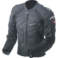 Мужские кожаные мотокуртки с защитой