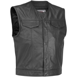 River Road Vandal Leather Vest