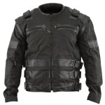 Xelement Men's Asylum Black Jacket XS-121-310