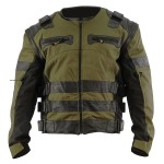 Xelement Men's Asylum Dark Green/Black Jacket XS-121-315