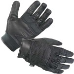 Leather-and-Mesh Motorcycle Gloves XG-879