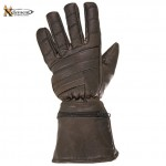 Retro Brown Leather Gauntlets XG-230R