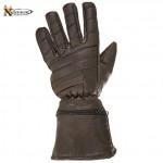 Retro Brown Leather Gauntlets XG-230R