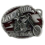 LIVE TO RIDE - RIDE TO LIVE Buckle BU-271