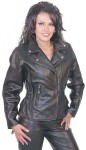 Road Angel Leather Motorcycle Jacket LA265Z