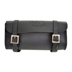 Motorcycle Tool Bags Leather Eagle Embossed