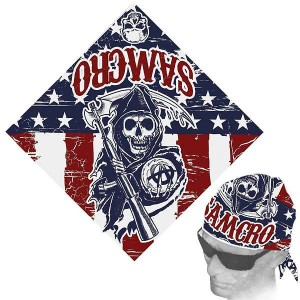Sons of Anarchy Classic Americana Bandana SOA-28-134