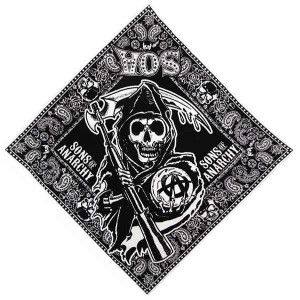 Sons of Anarchy Reaper Bandanna SOA-28-51
