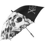 Xelement Skulls 8-Panel 51 Inch Umbrella UM-100