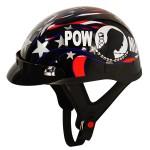 DOT Outlaw T-70 POW Half Helmet