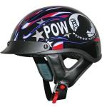 DOT Outlaw XU132 POW Half Helmet