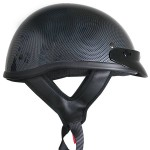 DOT Solid T69 Carbon Half Helmet