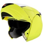 Hawk H6675 Advanced Hi-Viz Yellow Dual Visor Modular Helmet