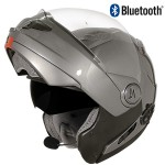 Hawk ST-1198 Bluetooth Transition 2 in 1 Gun Metal Modular Helmet
