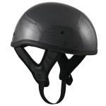 DOT T68 Carbon Motorcycle Skull Cap Half Helmet