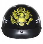 DOT XU-130 Outlaw Officially Licensed Army Half Helmet