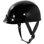 Outlaw Slim-G430 Black Half Helmet