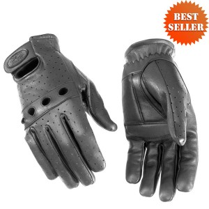 River Road Sturgis Leather Gloves