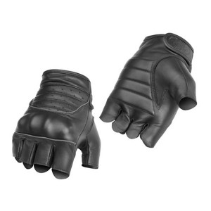 River Road Twin Iron Shorty Leather Gloves