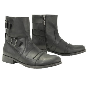 Xelement Mens Double Buckle Motorcycle Boot LU9003
