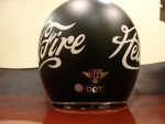 Bell 500 Hell Fire Limited Edition Helmet