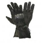 Xelement Motorcycle Black Carbon Gloves XG-441