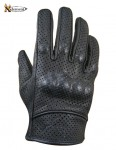 Xelement UNISEX Vented Naked Leather Motorcycle Gloves XG-812