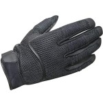 Xelement XG-791 Black Mesh Motorcycle Gloves XG-791