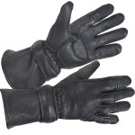 Xelement XG-852 Deerskin Insulated Motorcycle Gauntlet Gloves XG-852