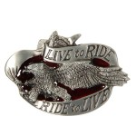 Live to Ride, Ride to Live Buckle BU-272