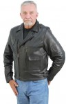 Premium Vented Leather Motorcycle Jacket M9029VZK-02