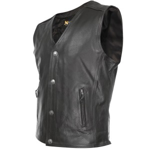 Xelement XS-1378 Mens Gun Pocket Vest with One Panel Back