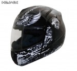 Advanced Hawk Modular Flip up Cross Dual Visor Full Face Motorcycle Helmet