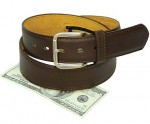 Brown Leather Money Belt- Economy  BT303MBZN