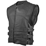 Hard Knock Life Leather Vest