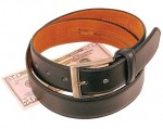 Economy Leather Money Belt BT011MBZ