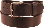 Heavy Duty Black Leather Belt BT302K