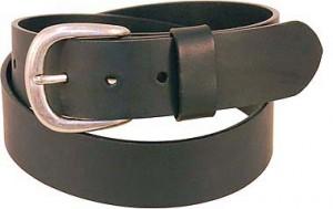 Oil Tanned Heavy Black Leather Belt BT208K
