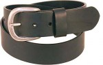 Oil Tanned Heavy Black Leather Belt BT208K