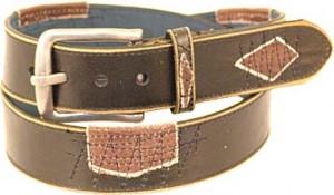 Patched Up Vintage Pauper Leather Belt BT4514P