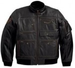 Harley-Davidson® Military-Inspired Leather Jacket 97137-13VM