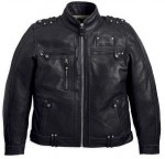Harley-Davidson Mens 2-in-1 Valor Leather Jacket 97120-12VM