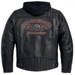 Harley-Davidson Military-Inspired Leather Jacket 98062-13VM