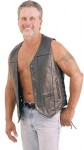 10 Pocket Leather Vest - Extra Long VM630PT