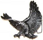 3D WINGED FLYING WESTERN EAGLE BELT BUCKLE,SOLID METAL,HEAVY DUTY,BIKERS,VINTAGE