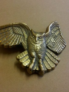 BRASS Buckle baron1979EAGLE