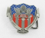New Mens United States Flag USA US Army COME GET SOME Eagle Metal Belt Buckle