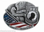 POW MIA VIETNAM american USA belt buckle logo eagle accessories replacement hd
