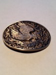 VINTAGE AMERICAN EAGLE 200 YEARS BELT BUCKLE FIRST EDITION AWARD DESIGN MEDALS